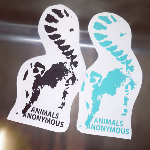 Lemur - Vinyl Decal - Animals Anonymous Apparel