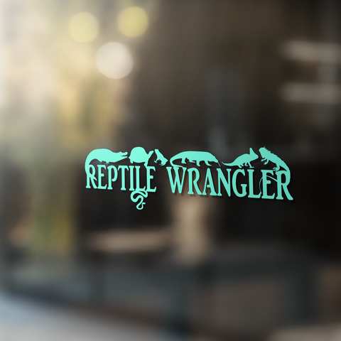 Reptile Wrangler - Vinyl Decal - Animals Anonymous Apparel