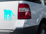 Tiger - Docent - Vinyl Decal - Animals Anonymous Apparel