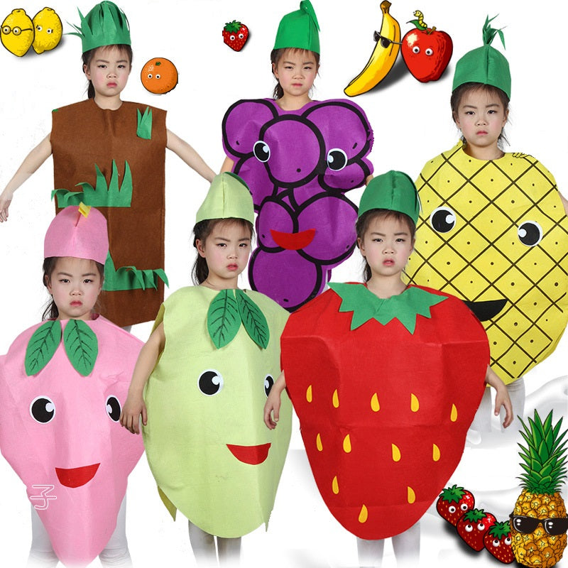 739a9d62176d Kids fruit vegetable costumes Suits outfits for Fancy Dress party ...