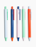 Poketo 5-Pack Colourblock Gel Pens