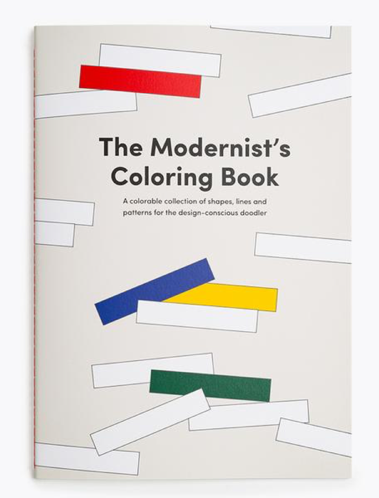 Poketo Modernist's Colouring Book