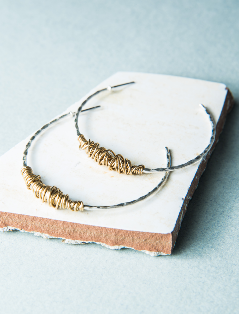 Penelope Hoop Earrings