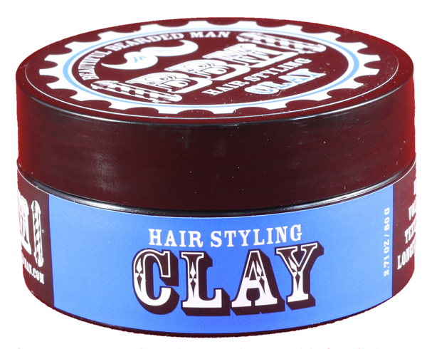 12 - BBM Hair Clay wholesale - BEAUTIFUL BEARDED MAN
