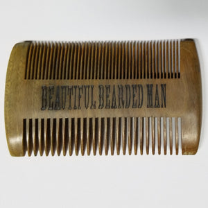 Beard Comb Wholesale - 6 - BEAUTIFUL BEARDED MAN
