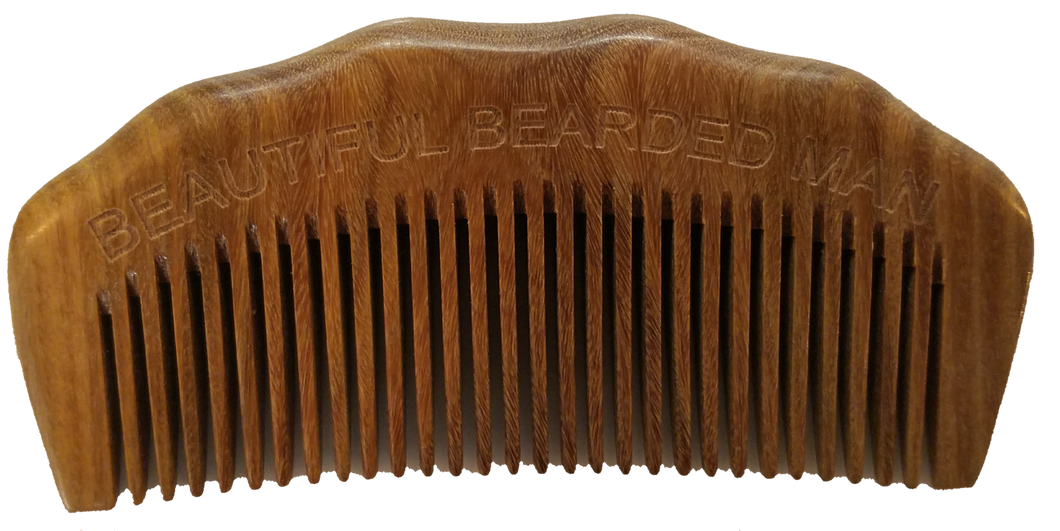 BBM Beard Comb Arched wholesale - BEAUTIFUL BEARDED MAN
