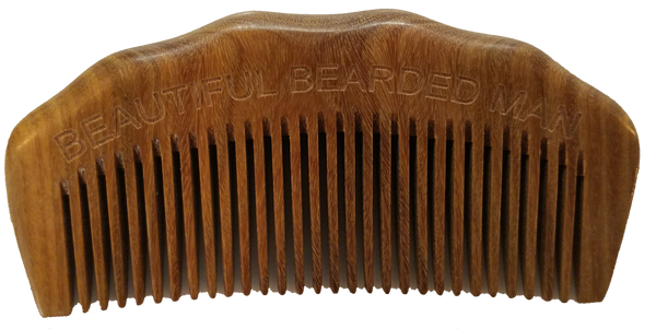 Beard Comb Arched - BEAUTIFUL BEARDED MAN