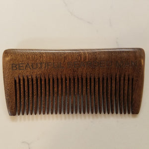 Beard Comb Square - BEAUTIFUL BEARDED MAN