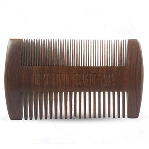 Beard Comb - BEAUTIFUL BEARDED MAN