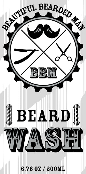 BBM Beard Wash - BEAUTIFUL BEARDED MAN