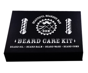 Beard Care Set Box - BEAUTIFUL BEARDED MAN