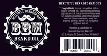Load image into Gallery viewer, BBM Beard Oil wholesale - BEAUTIFUL BEARDED MAN