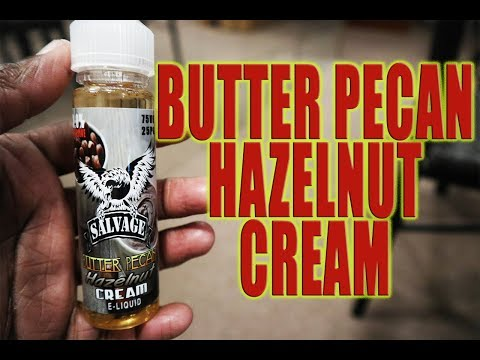 Salvage- Butter Pecan, Hazelnut Cream Review