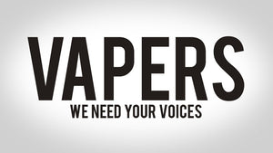 HELP SAVE VAPING!