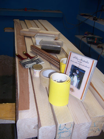 Balsa surfboard shaping kits