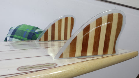 Longboard Timber Fins