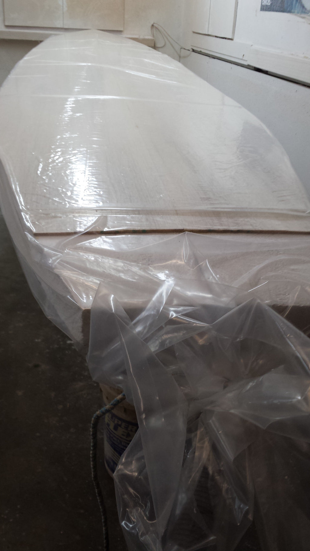 Vacuum plastic bags or poly tubing 850mm