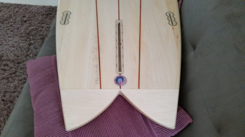 Aust made longboard fin boxes