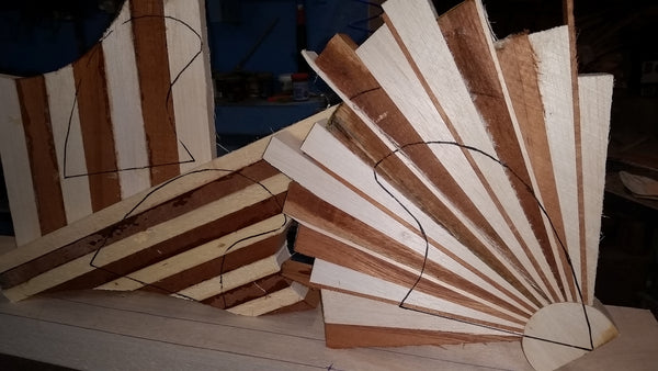 Timber fin blanks