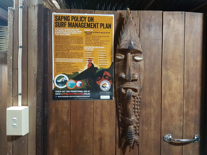 Travel to Papua New Guinea and build a balsa board