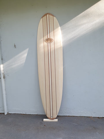 Brush on clear deck grip - waxless