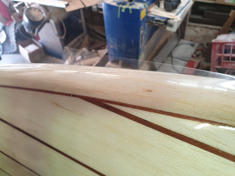 Fish Board Timber Fins