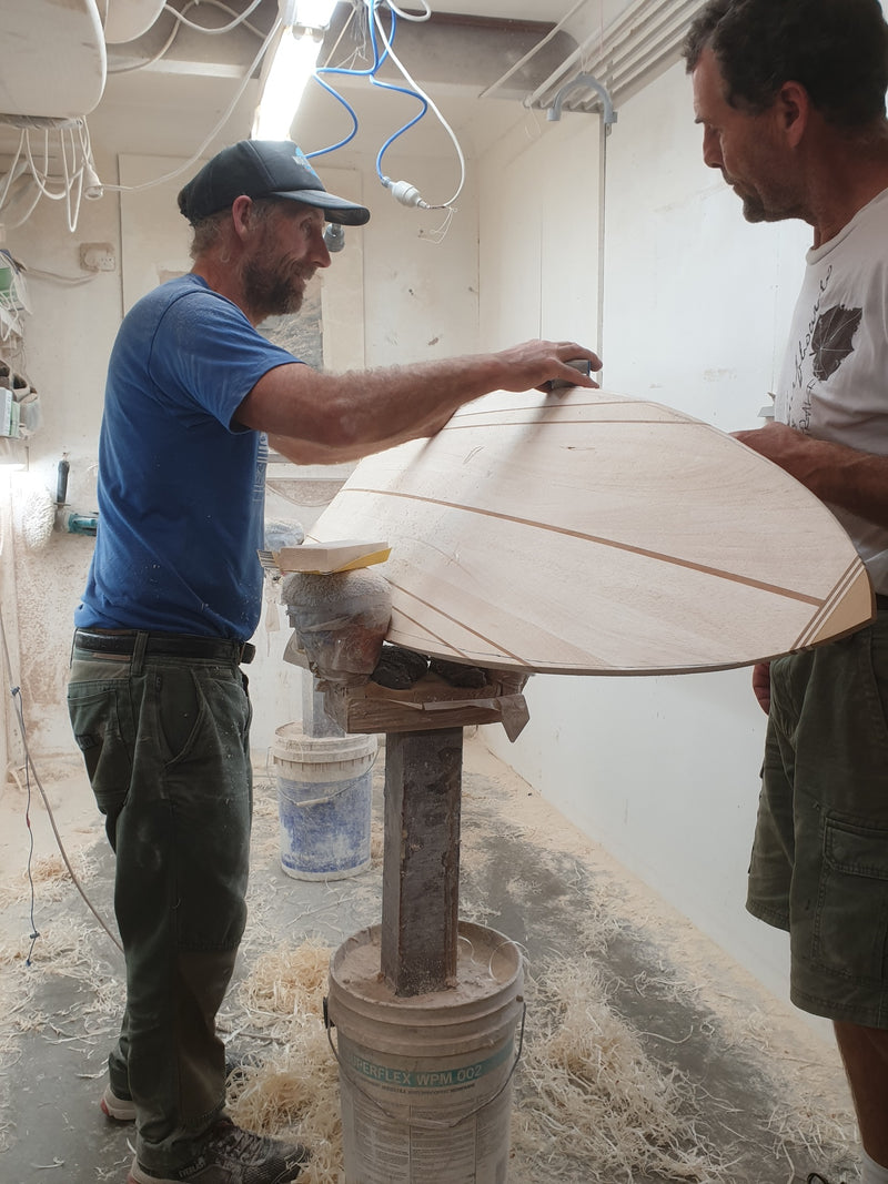 Build an Enviro Wooden Surfboard with Mark Riley at Jannali