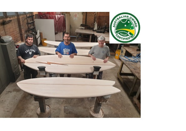 Build an Enviro Wooden Surfboard with Mark Riley at Kurnell