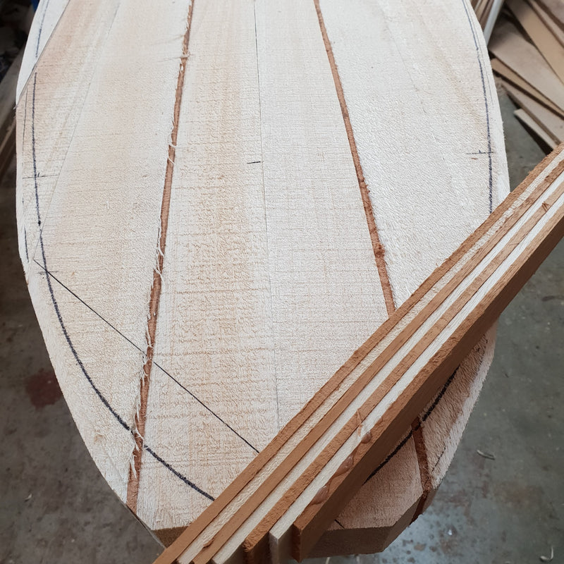Solid Balsa Blanks - rough cut