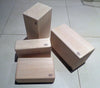 Balsa wood sanding block