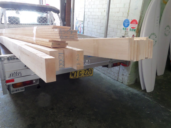 Balsa and Cedar Stringers