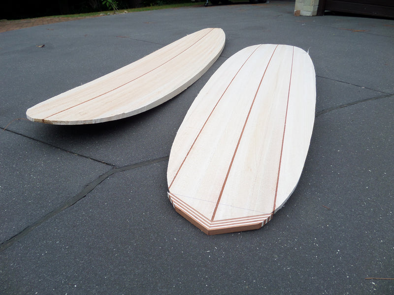 Solid Balsa Blanks - preshaped