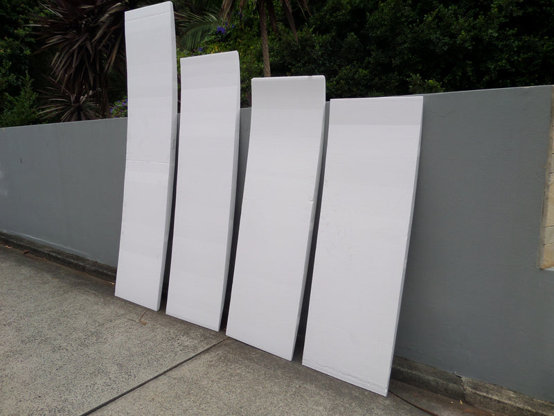 Polystyrene Foam Blanks for surfboards
