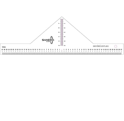 ETC Calipers - Measuring Thickness of Surfboard