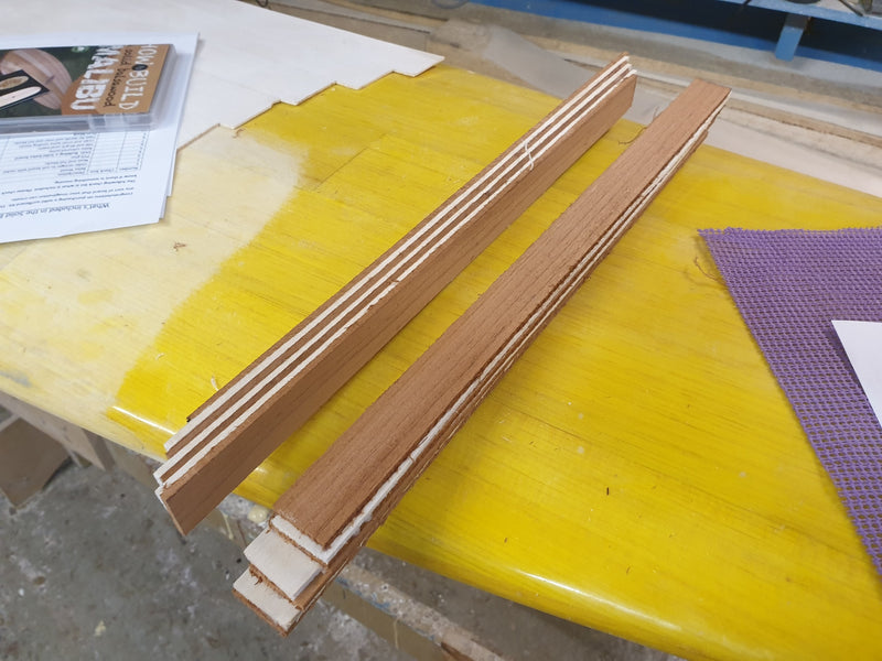Cedar and Balsa Nose and Tail blocks