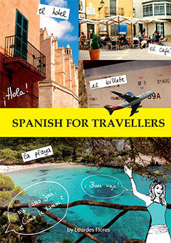 Spanish for Travellers and Surfers - EBook, book and CD