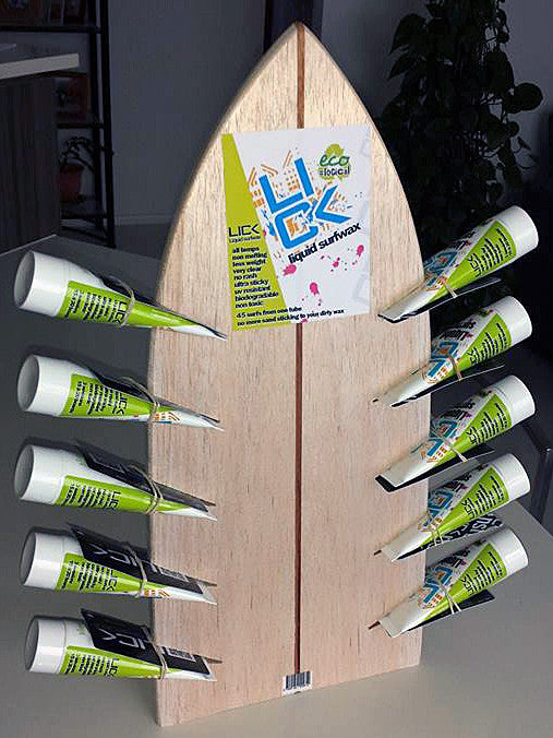 NEW Lick liquid surfboard wax eco friendly economical longlasting no rash