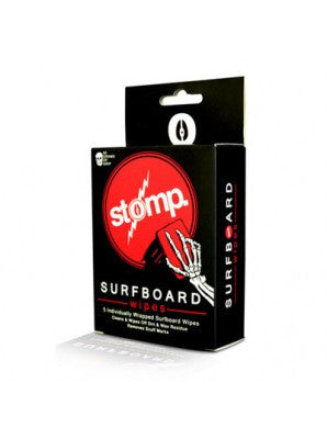 Stomp Surf wax wipes