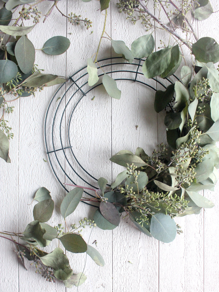 Eucalyptus Wreath DIY