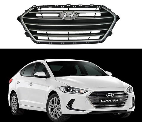 Parrilla Elantra 2017-2018 - Unique Auto Parts & Accessories