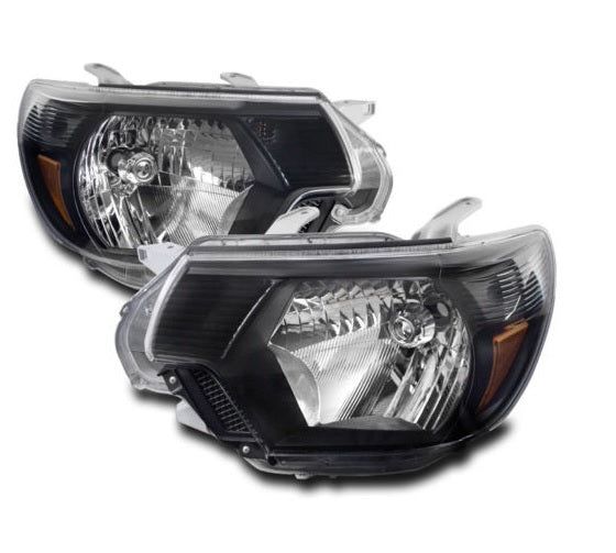 Set Halogenos Negros Tacoma 12-15 - Unique Auto Parts & Accessories