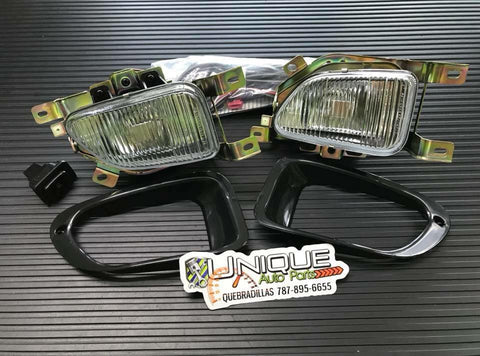 Kit Fog Lamps Mirage 2DR 1997-2002 - Unique Auto Parts & Accessories