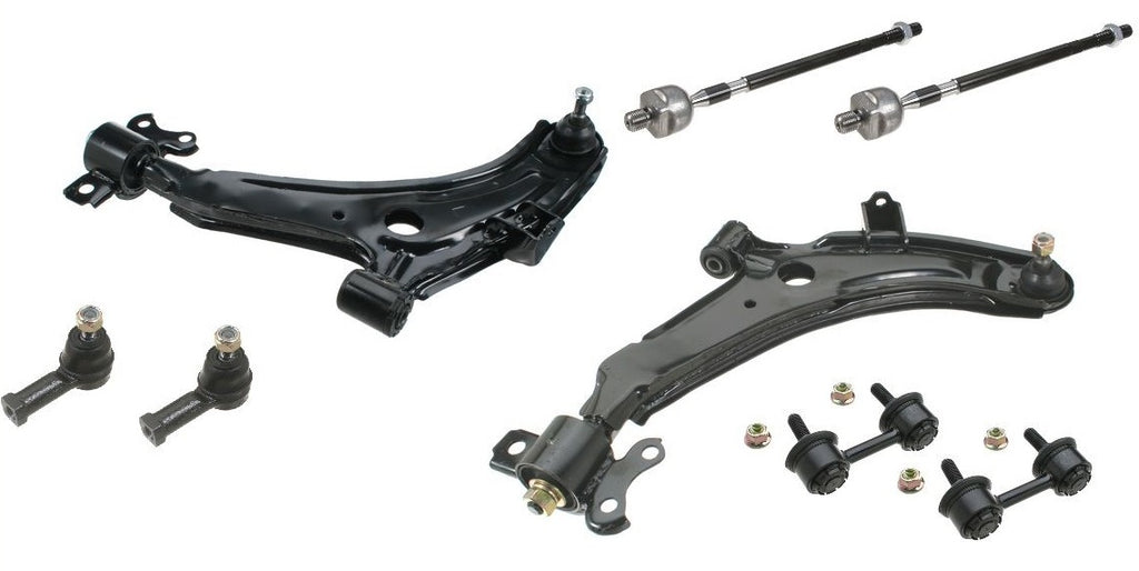 Elantra 96-00 Suspension Delantera Platos Terminales Links - Unique Auto Parts & Accessories