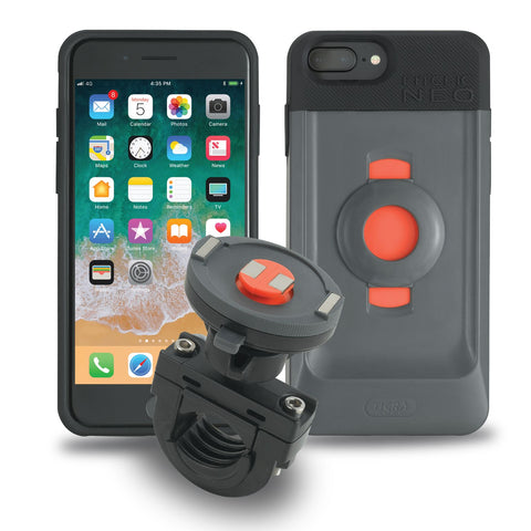 Tigra FitClic Neo Motorcycle Kit for iPhone 6+/6s+/7+/8+