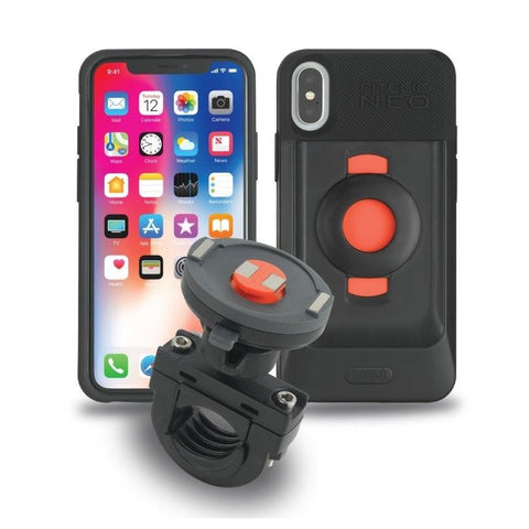 Tigra FitClic Neo Motorcycle Kit for iPhone X