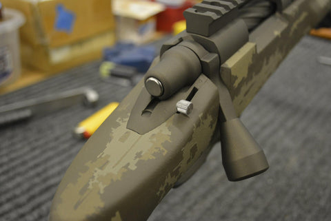 GUNSMITHING SERVICES: Remington M700, Howa 1500, and Winchester M70  Tactical Bolt Knob Installation