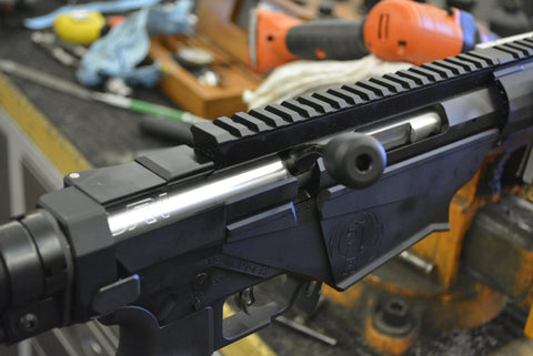 GUNSMITHING SERVICES:  Ruger RPR Barrel Removal and Installation