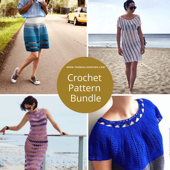 Crochet Pattern Bundles - TheMailoDesign