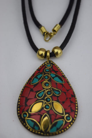 Trendsetter Necklace - Red Drop