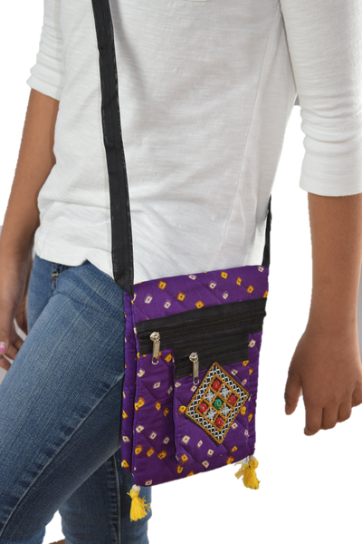 Cell Phone Purse - Purple